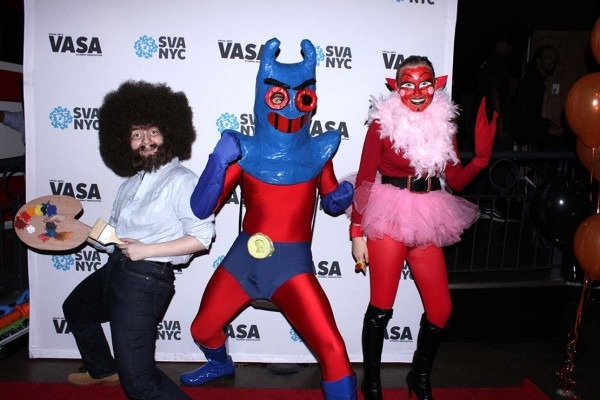 Spooky And Creative  2018 Halloween Costumes At Sva [slideshow]