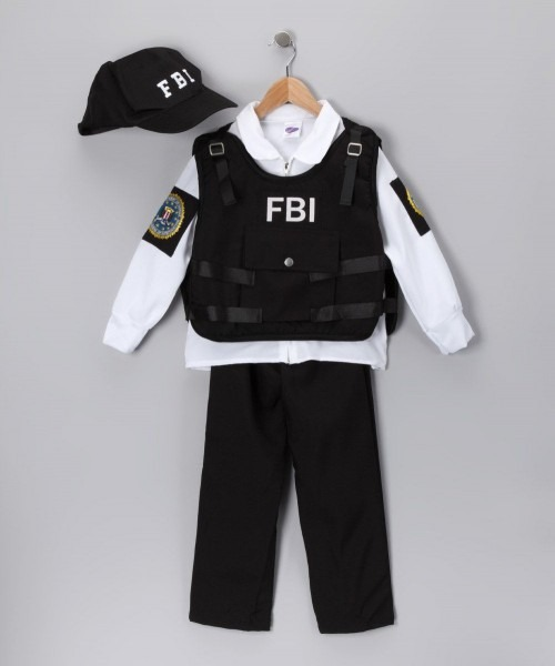 Black Fbi Agent Possible Costume Next Year