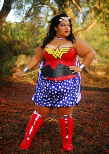 Bbwgeneration  Plus Size Wonder Woman We Exist! (outfit Of The