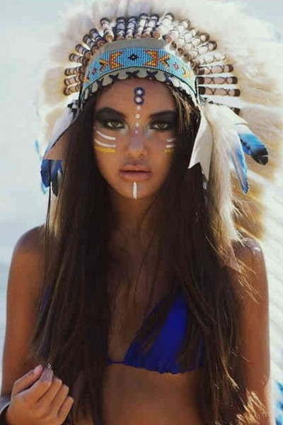 Indian Headdress Photoshoot Empowered