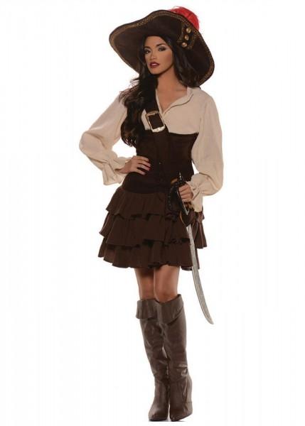 Caribbean Vixen Pirate Women Costume