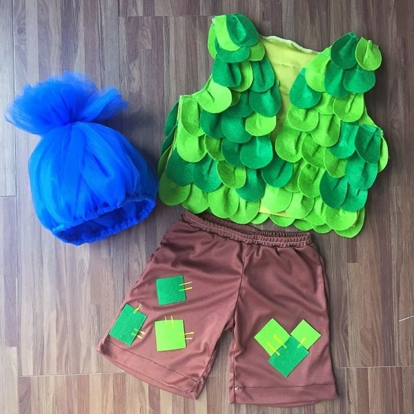 Branch Trolls Inspired Costume