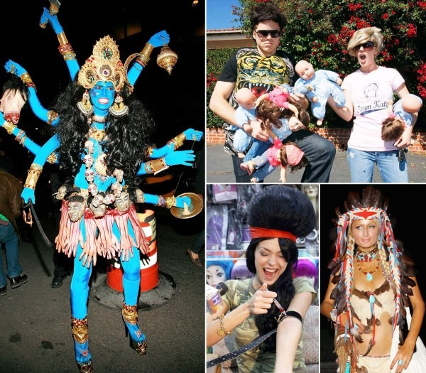 Celebs Controversial Halloween Costumes Designs Of Famous People