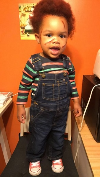 Halloween! Create The Perfect Chucky Costume For Your Toddler
