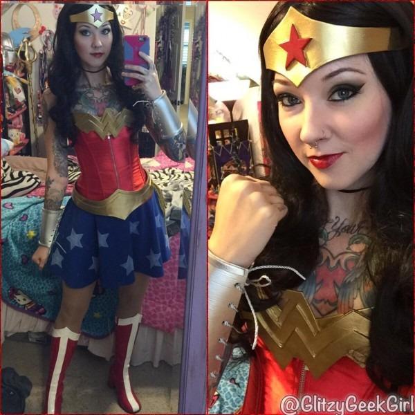 Omglitzy  Tutorial  Wonder Woman Cosplay Costume