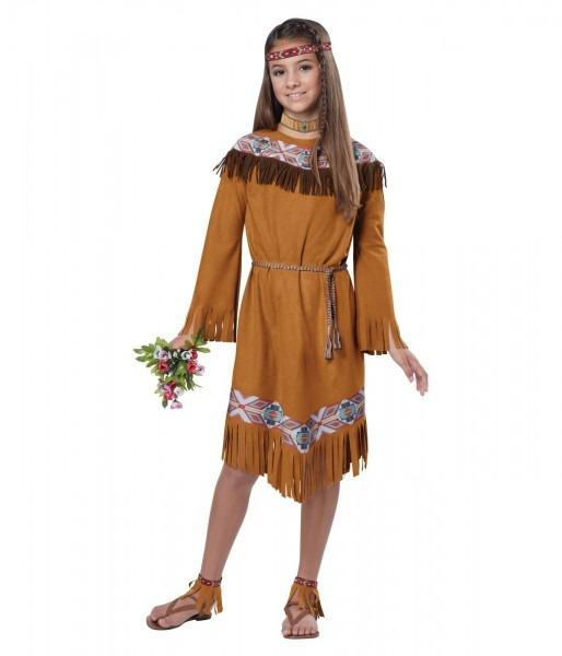 Native American Classic Indian Girls Costume