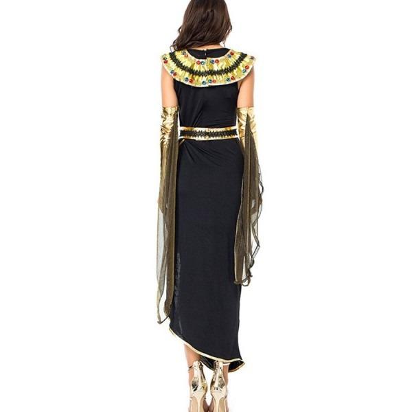 Cleopatra Black Egyptian Goddess Halloween Costume  2hal47905