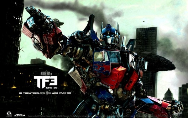 New Optimus Prime Transformers 3 Wallpaper