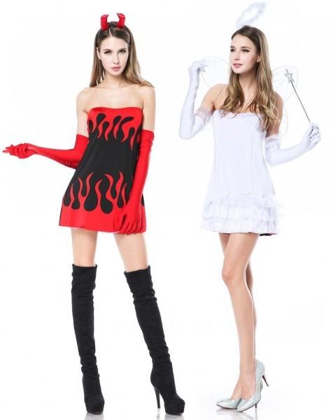 Reversible Costume Angel Devil
