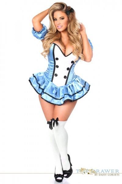 Top Drawer Premium Alice Corset Dress Costume