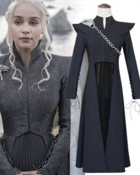 Shop Game Of Thrones Black Queen Daenerys Targaryen Cosplay