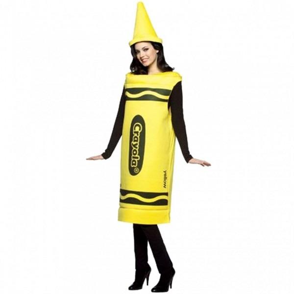 Yellow Crayola Crayon Costume