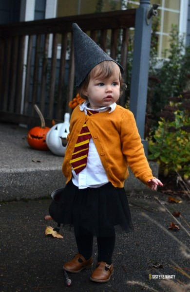Picture Of Diy Hermione Toddler Costume