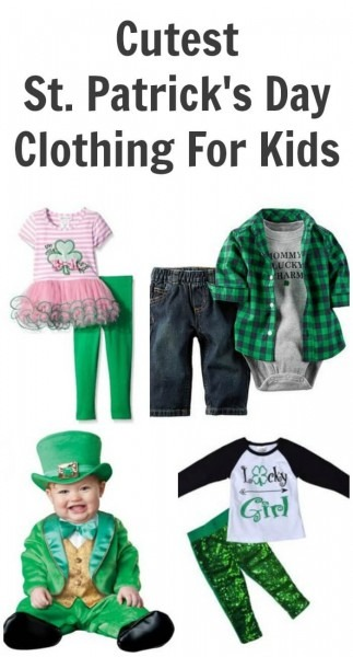 Cutest St  Patrick's Day Clothing For Kids