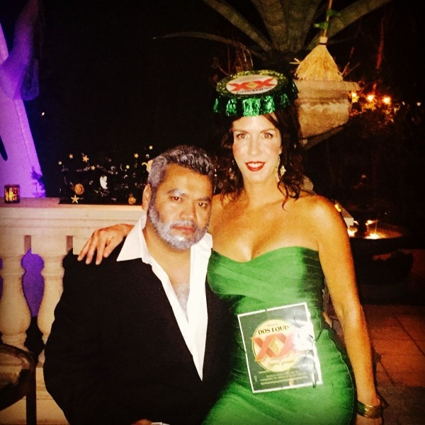 Couple Costume!! Dos Equis And The Most Interesting Man In The
