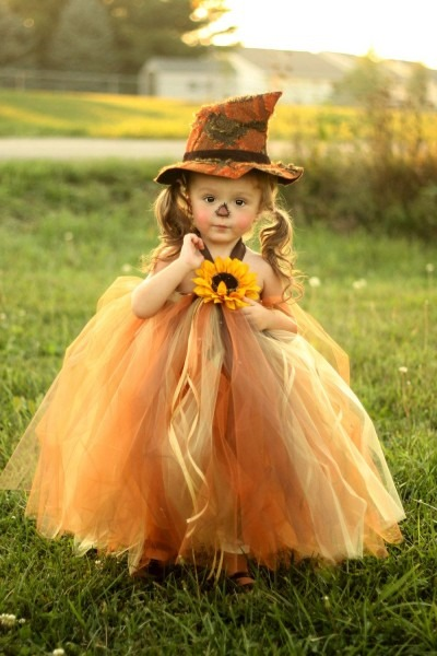 Sassy Little Scarecrow Tutu Dress