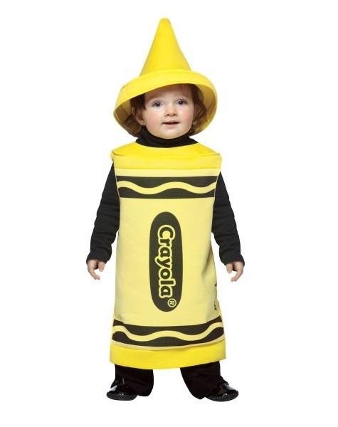 Crayola Crayon Yellow Baby Costume