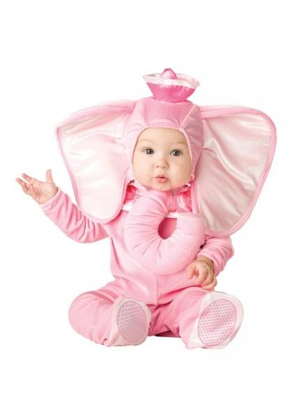 Toddler Infant Pink Elephant Fancy Dress Costume