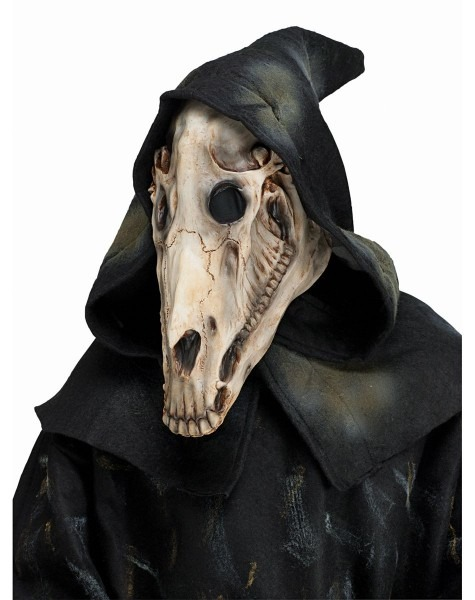 Hooded Horse Skull Mask – Spirit Halloween