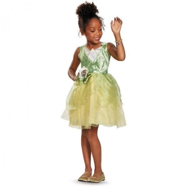 Darling Princess And The Frog Tiana Classic Child Halloween