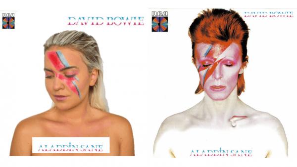 Easy David Bowie Makeup Tutorial – David Bowie Halloween Costume