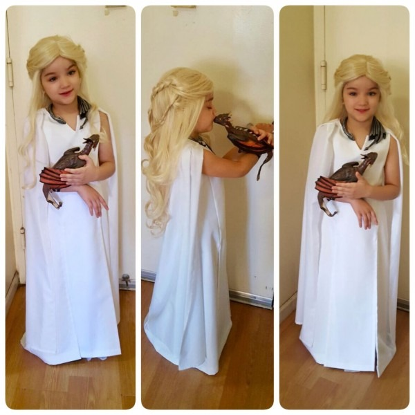 Game Of Thrones Kids Costume Daenerys Targaryen Stormborn Khalessi