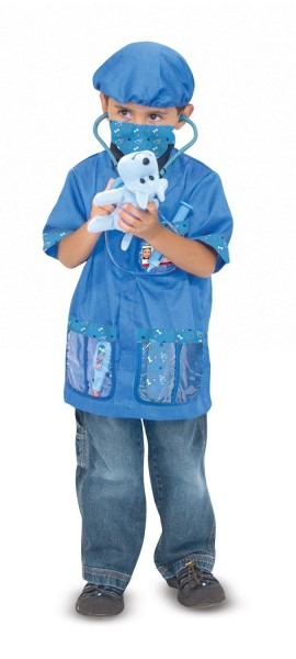 Make A Veterinarian Role Play Costume For The Kids