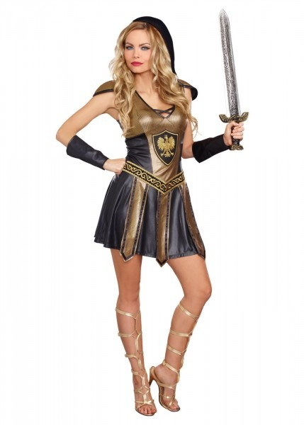 Deadly Warrior Women Costume