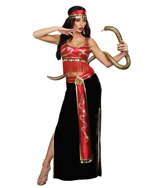 New Dreamgirl 9881 The Snake Charmer Egyptian Sexy Womens Costume