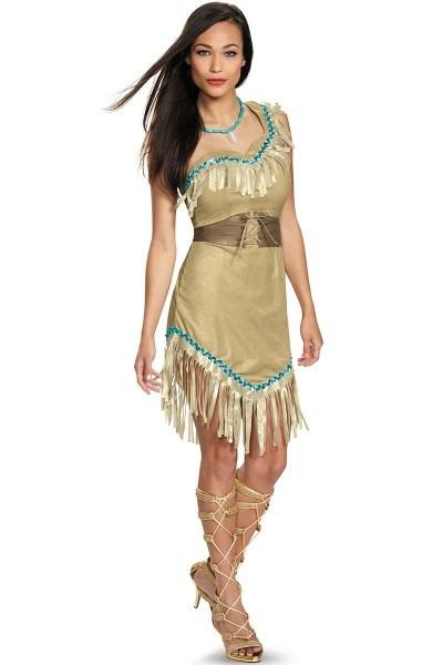 Disney Pocahontas Costume, Adult Pocahontas Halloween Costume