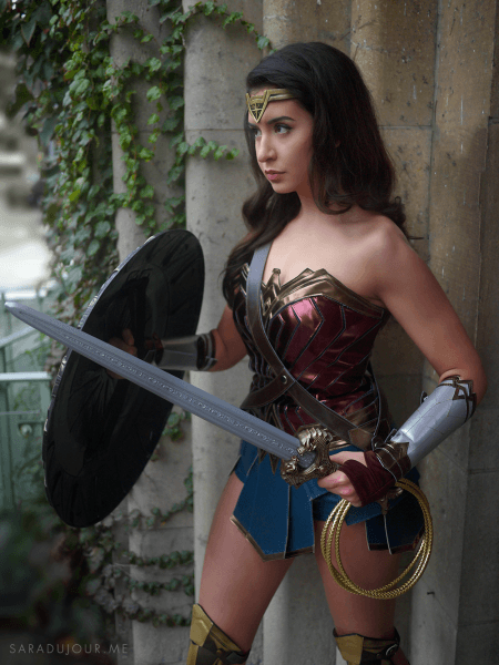 Wonder Woman Halloween Costume • Sara Du Jour