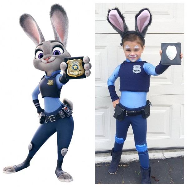 Disney Zootopia Halloween Costumes For Kids