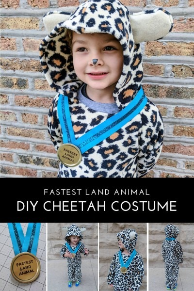 Diy Kids Cheetah Halloween Costume For Boys