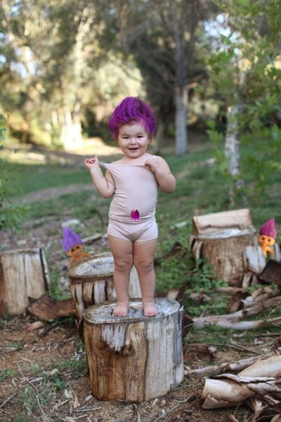 Diy Meet Willow The 2 Year Old Girl Who S Already Won Halloween