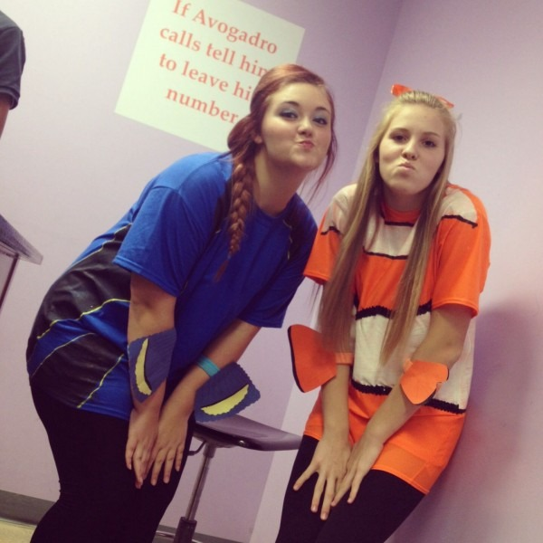 Dory And Nemo  Bestfriend Costumes
