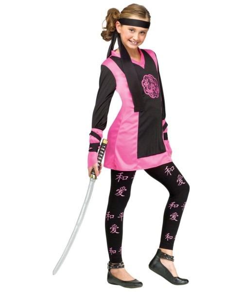Dragon Oriental Ninja Kids Costume