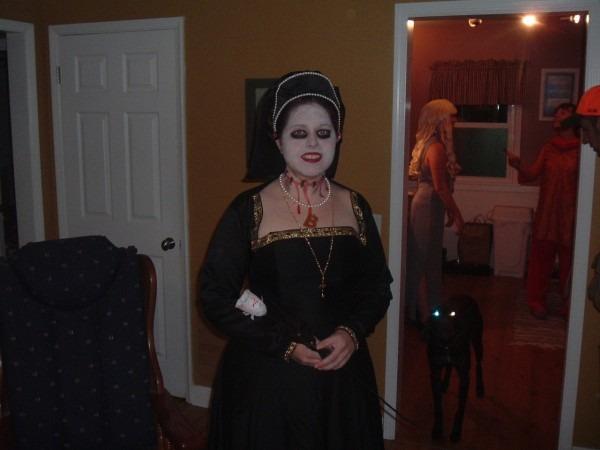 Anne Boleyn, The After (halloween) Party