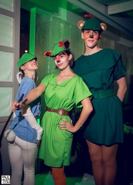 Robin Hood, Little John, And Skippy From Disney's Robin Hood Group