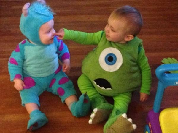 Diy Mike Wazowski Costume Toddler