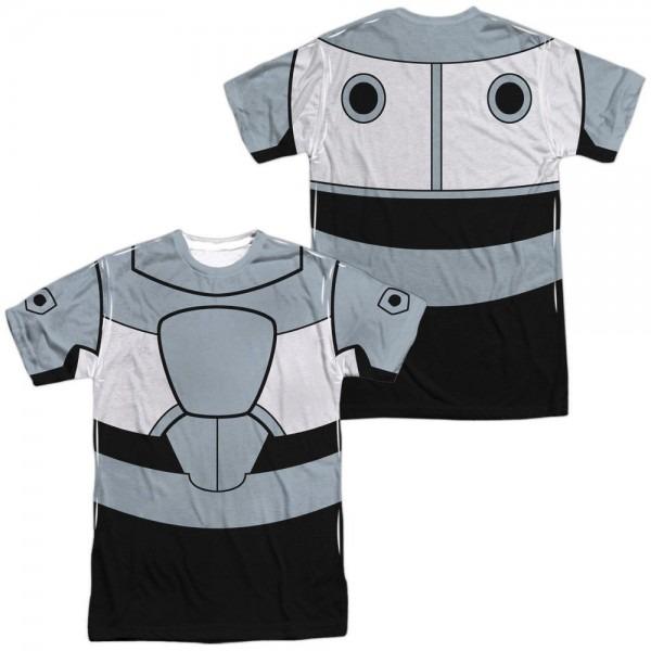 Teen Titans Go Cyborg Uniform (front Back Print)