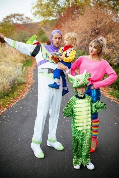 Toy Story Family Halloween Costume Idea