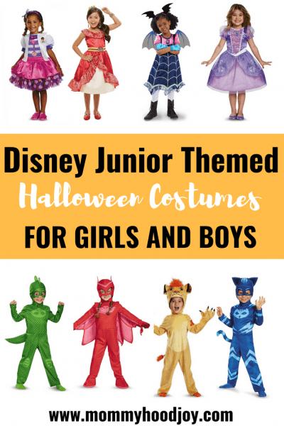 Halloween Disney Junior Inspired Costumes