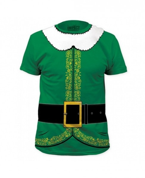 Buddy The Elf's Costume T
