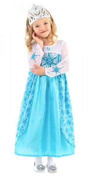 Elsa Princess Dress For Girls