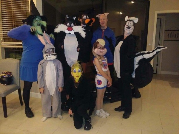 Our Homemade Looney Tunes Costumes