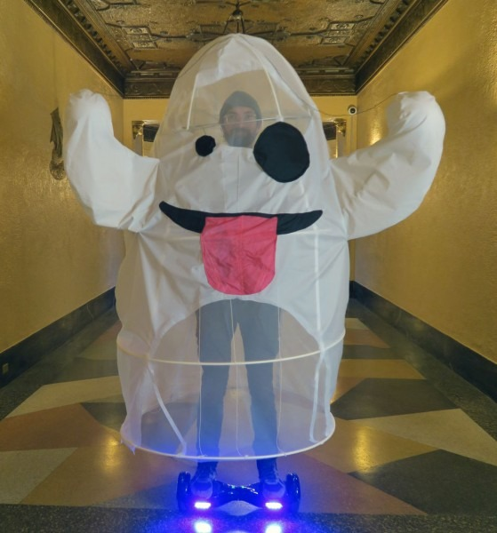 Emoji Ghost Costume  4 Steps (with Pictures)