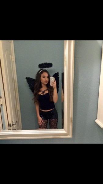 Fallen Angel Costume Girls