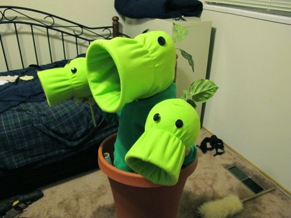 Plants Vs  Zombies Costumes  7 Steps (with Pictures)