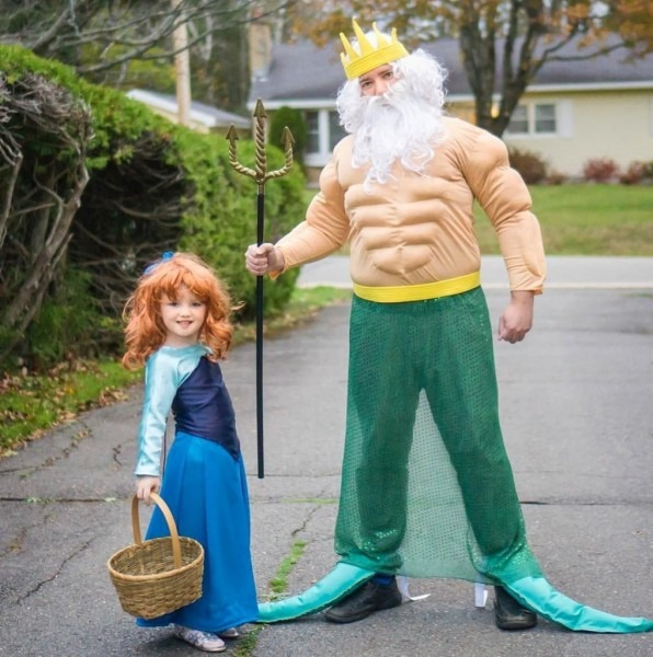 Father And Daughter Halloween Costumes