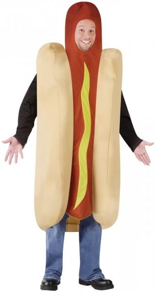 Hot Dog Costume For Adults
